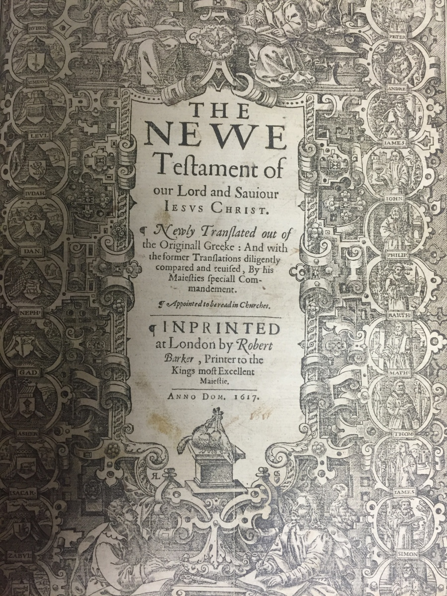 1617 King James Bible